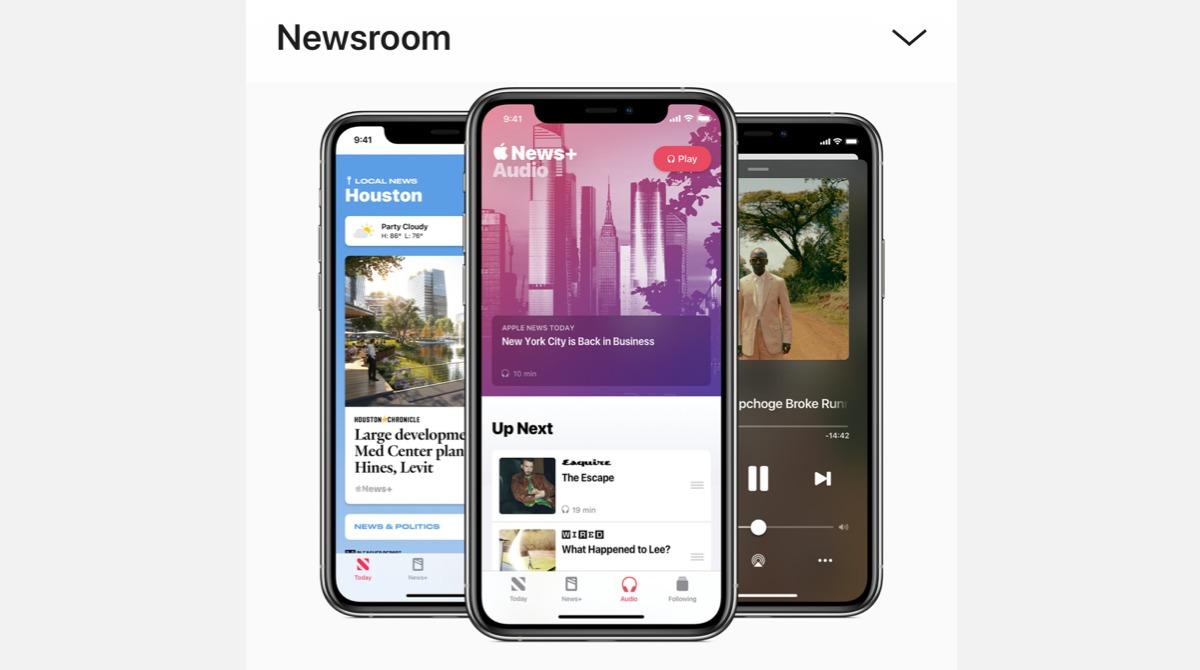 Appleがポッドキャスト「Apple News Today」を発表。米で音声ニュース配信開始。2020年7月