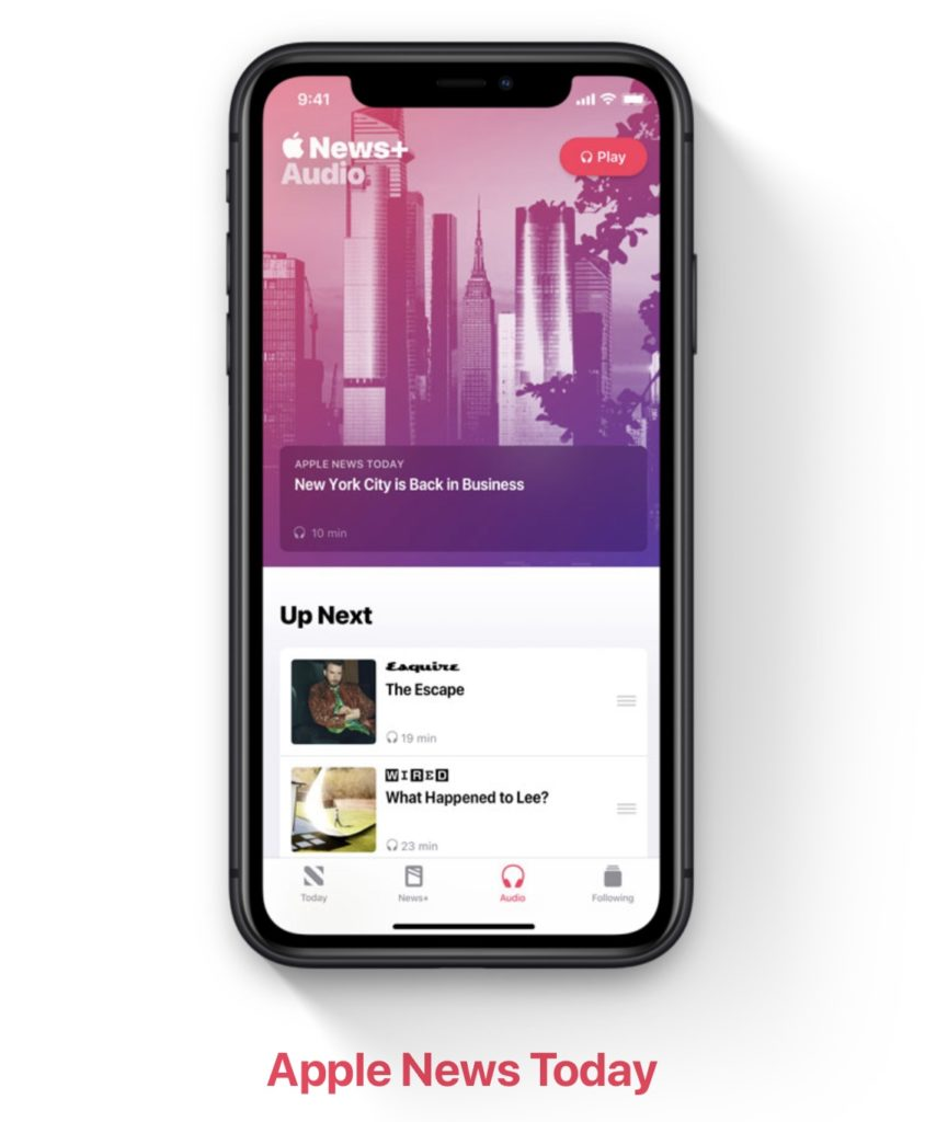 Appleニュースとポッドキャストで「Apple News Today」を米で音声配信開始。2020年7月