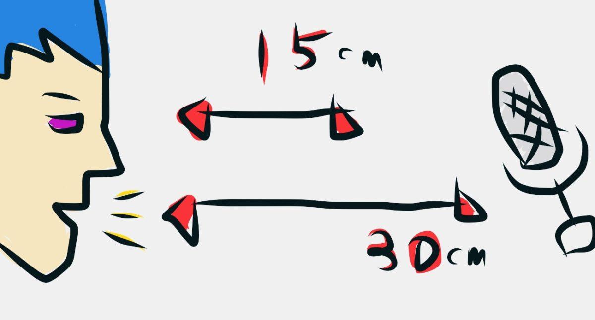 声がこもってる?ぼやけてる?TASCAM DR-07Xマイク音声収録 距離感テスト。15cm or 30cm