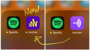 podcast anchor of spotify new brand logo 2021